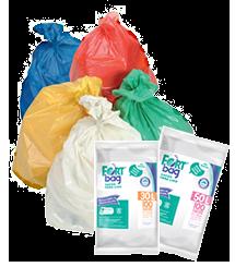 Sacos para Lixo Coloridos
