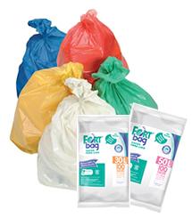 Sacos de Lixo Branco e Colorido FortBag