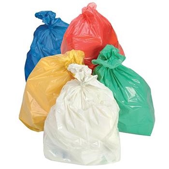 Saco de Lixo Laranja - 1