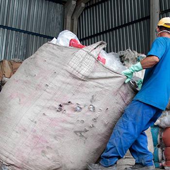 Saco de Lixo Reciclados - 1