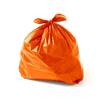 Saco de Lixo Laranja